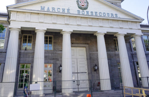 Door restoration – Marché Bonsecours