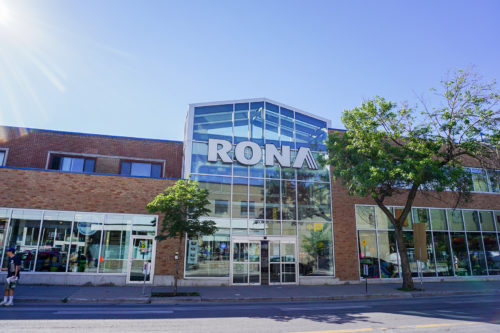 Hardware store expansion – RONA Beaubien